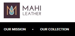 Mahi Leather Affiliate logo