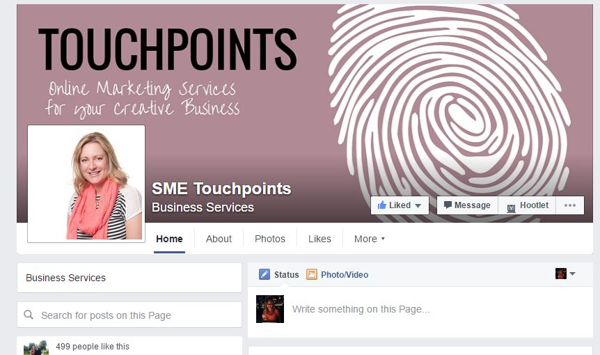 SME Touchpoints Facebook profile