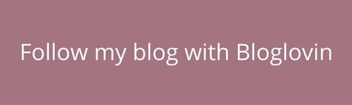 Follow my blog with Bloglovin