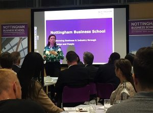 Nottingham Business School welcomes Alumni Fellows to the University