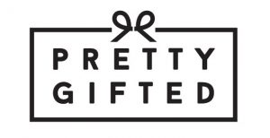 Small business saturday - pretty gifted logo