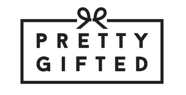 Small business saturday - pretty gifted logo