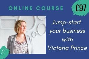 Jump start your business with Victoria Prince. THis is a link through to her Membervault course page.